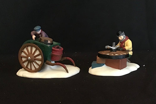 Dept 56 (#016) C. Bradford, Wheelwright & Son