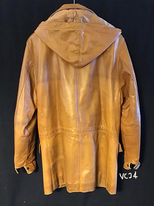 Men's Leather Jacket, Size: 42 (VC24)