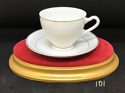 Tea Cup and Saucer , Japan (101)