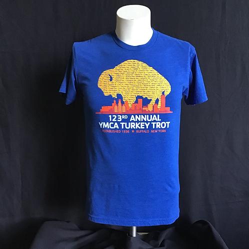 YMCA 123rd Annual Turkey Trot T-shirt (VC07)