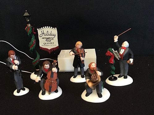Dept 56 (#003) Holiday Quintet