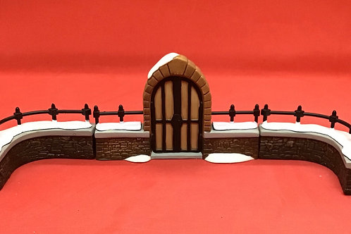 Dept 56 (#035) Churchyard Gate and Fence