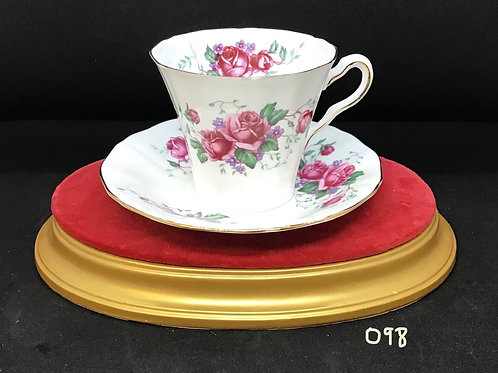 Mayfair Bone China Tea Cup and Saucer (098)