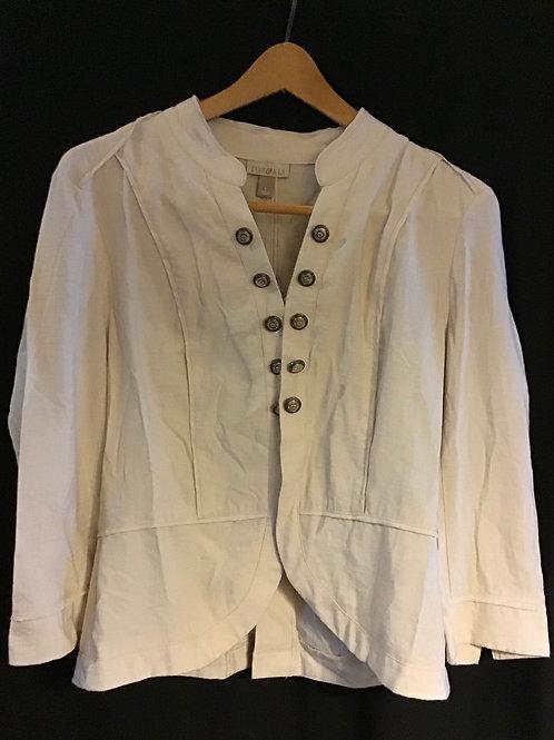 Beige Jacket by Roz & Ali, Size: Large (VC66)