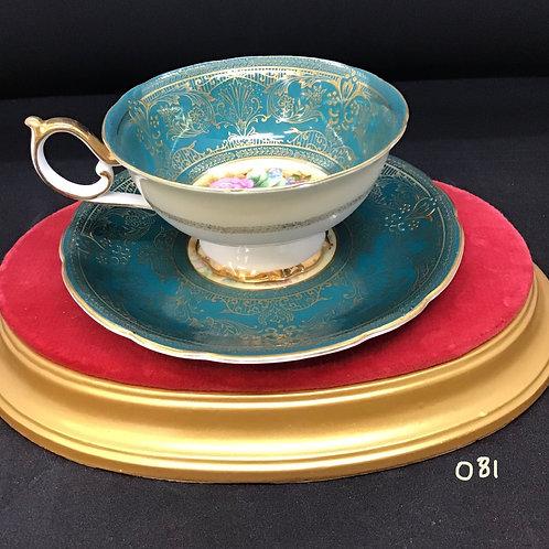 Vintage Rosetti Tea Cup and Saucer, Japan, (081)