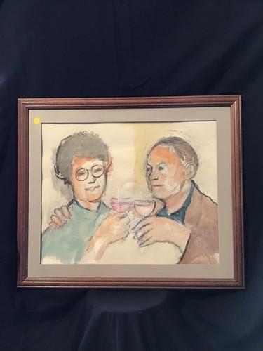 Self Portrait with Wife