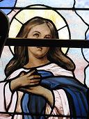 Mary Choir Loft Window