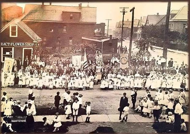 Procession Early 1900's