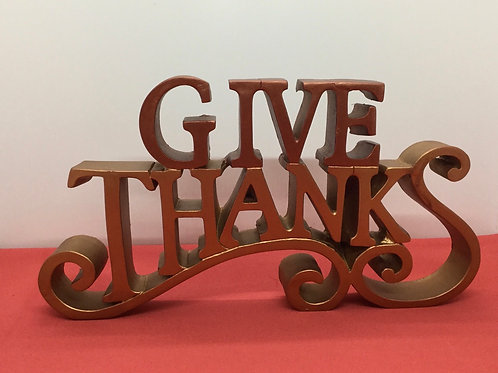 """Give Thanks"" decor (#443)"