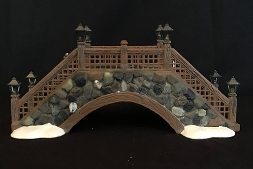 Department 56: Fieldstone Foot Bridge