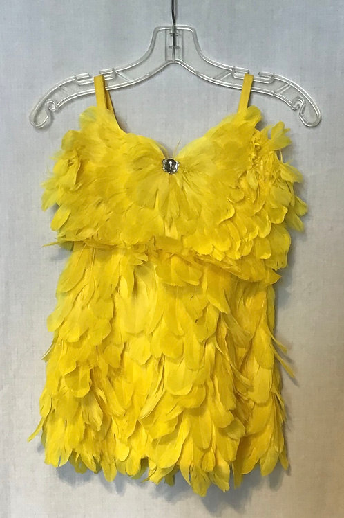 Tweetie Bird Dance Costume, Size: Child Large