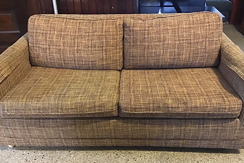Loveseat:  with Sofa Bed