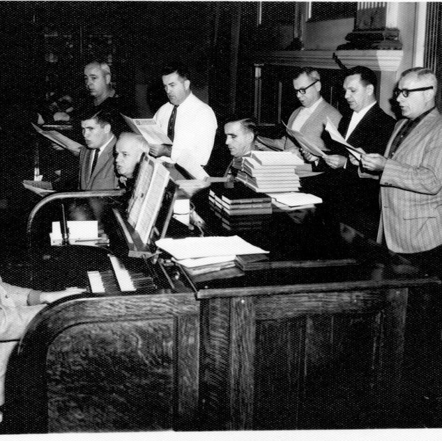 Ron Koban and HT Choir