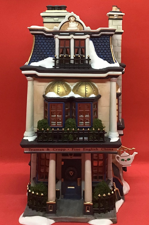 "Department 56 ""Teaman & Crupp China Shop #037"