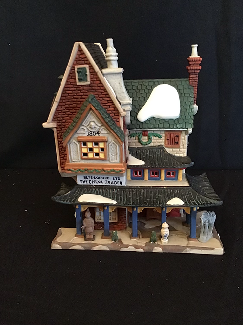 Department 56: Heritage Collection Dickens Village The China Trader