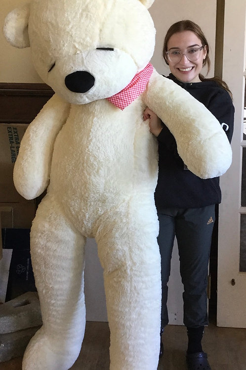 Large Stuffed Teddy Bear, stands 6 feet tall
