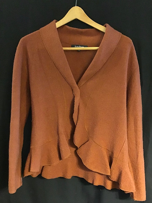 Sweater by Evan Picone, Carmel color, Size: PL (VC65)