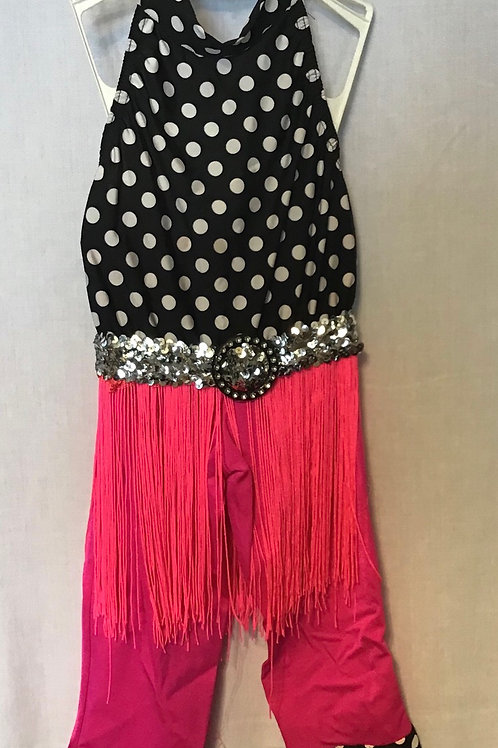 Roaring 20's Dance Costume, Size: Child Medium (2 piece)