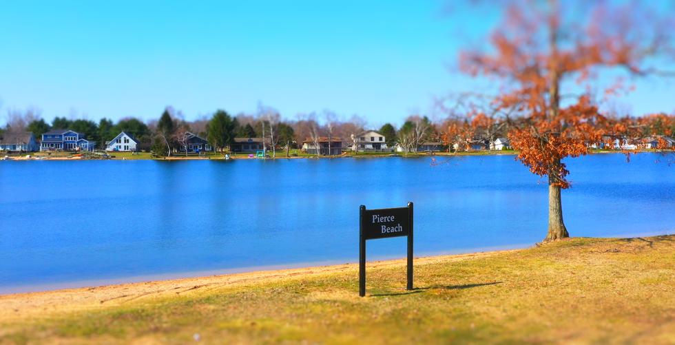 Canadian Lakes, MI. Pierce Beach. West Main Canadian Lakes