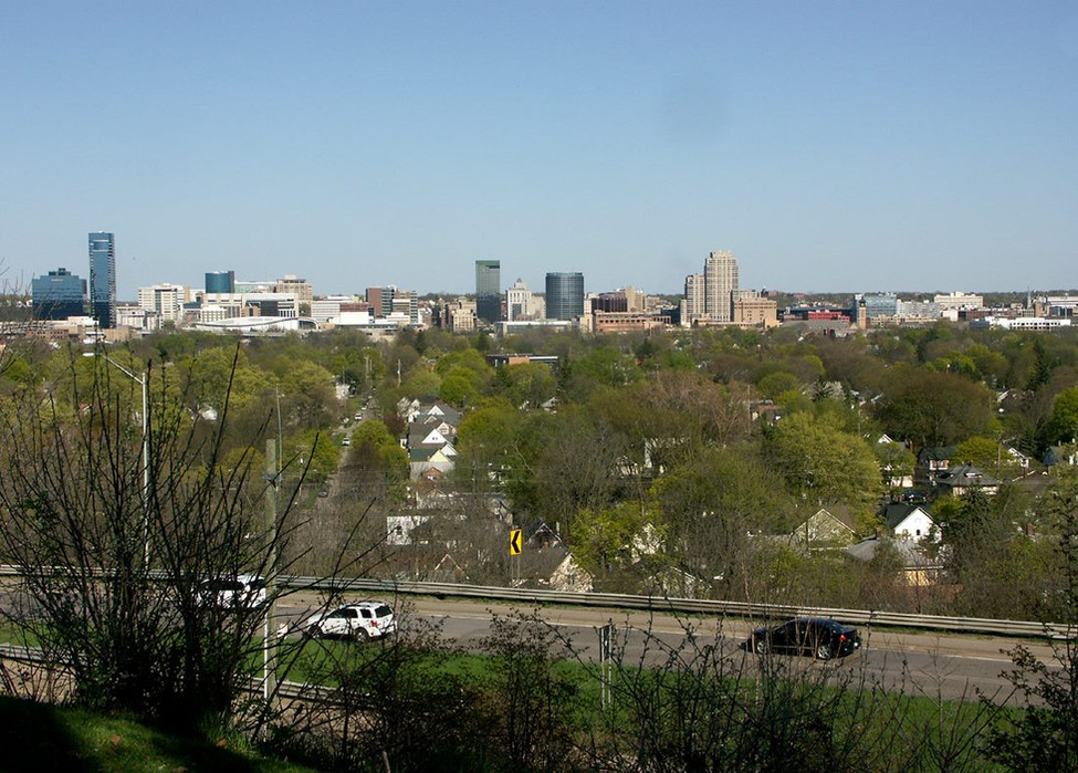Grand Rapids, MI Skyline
