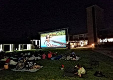 Party Train Entertainment Movie Productions offer outdoor movies to the standards that film makers intended their films to be experienced with a picture that is bright and crisp and a sound that has warmth and clarity.