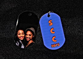 They say a picture's worth a thousand words. Maybe it's worth more when it is a picture of you on a Photo Dog Tag!!    What makes Photo Dog Tagsso amazing are the vibrant full color photos that have realistic flesh tone color faces. The pictures really do look thisgood!!