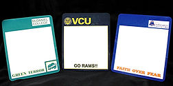 School Spirit Dry Erase Boards – Dry Erase Boards with Your School Colors,Your School Logos and a Personalized Phrase!!    Every studentneeds a dry erase message board especially one that theyget to personalize with their name or their favorite saying!! And these dry erase boards look like they were purchased from your school bookstore with your school logos and your school colors on them. What student wouldn't want one of these!!