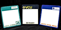 School Spirit Dry Erase Boards – Dry Erase Boards with Your School Colors, Your School Logos and a Personalized Phrase!!    Every student needs a dry erase message board especially one that they get to personalize with their name or their favorite saying!!  And these dry erase boards look like they were purchased from your school bookstore with your school logos and your school colors on them.  What student wouldn't want one of these!!