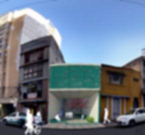 edificação rua anita garibaldi revitalização incêndio
