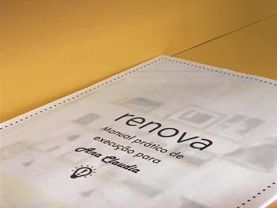 Entregamos para nossos clientes um manual personalizado com todas as dicas para renovar seu cantinho!