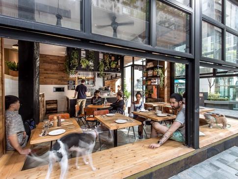 Um café urbano