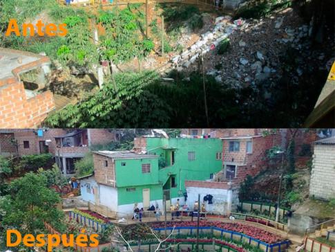 130 Lixões de Medellín são transformados em jardins públicos