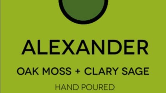 OAK MOSS + CLARY SAGE