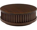 Pyrexx PX-1 Rauchwarnmelder dunkles Holz Design