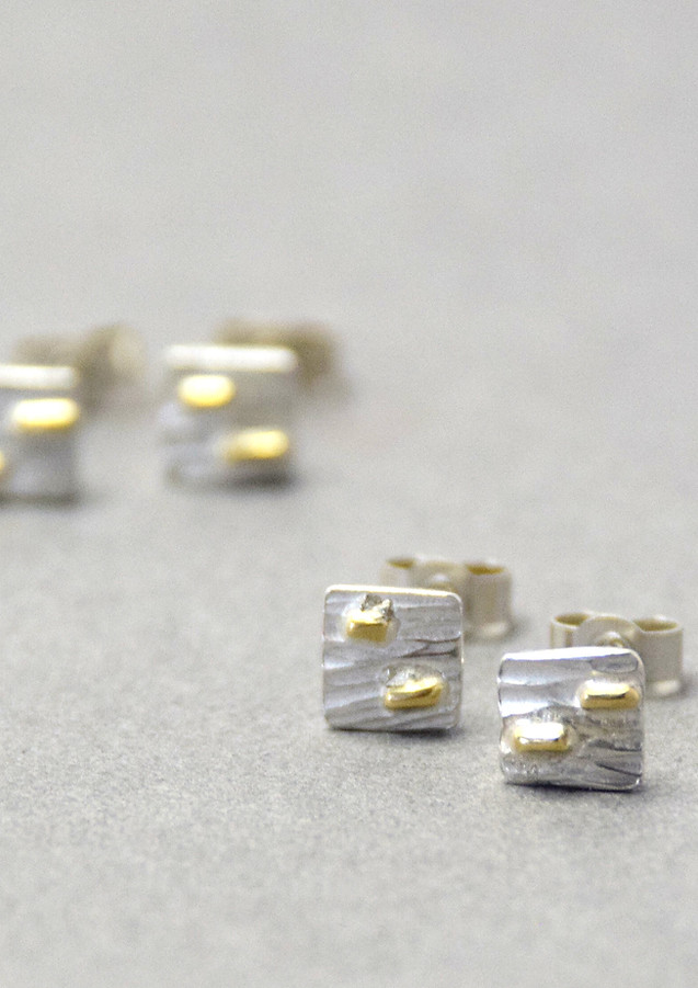 tectonic microplates with gold