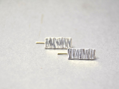 rectangular microplate hook earrings