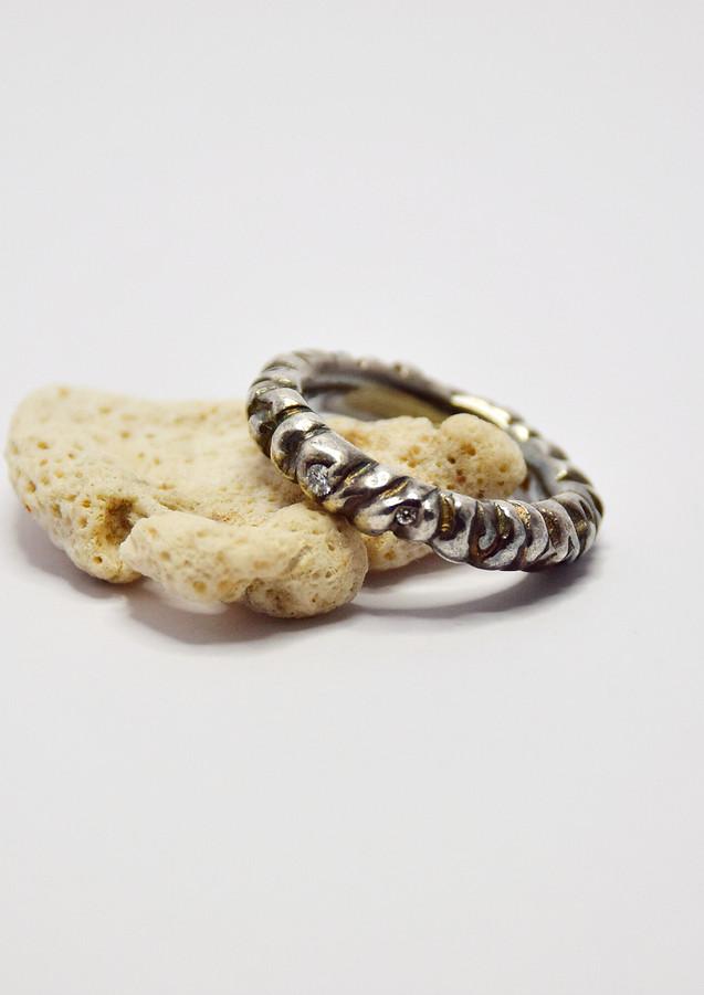 diamond coral stem