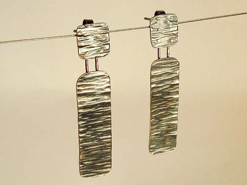 tectonic drop earrings