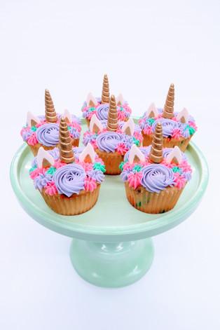 Unicorn Rosette Cupcakes