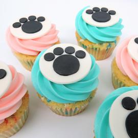Cat Paw Cupcakes