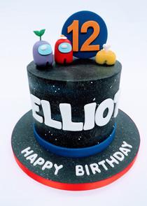 Among Us Cake
