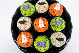 Mini Halloween Cupcakes