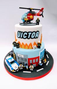 Lego Police Cake