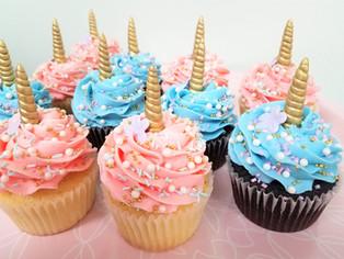 Pastel Unicorn Cupcakes