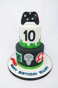 Video Game Cake