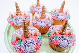 Unicorn Rosette Cupcakes 2