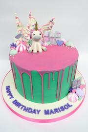 Unicorn Drip Cake