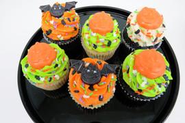 Large Halloween Cupcakes