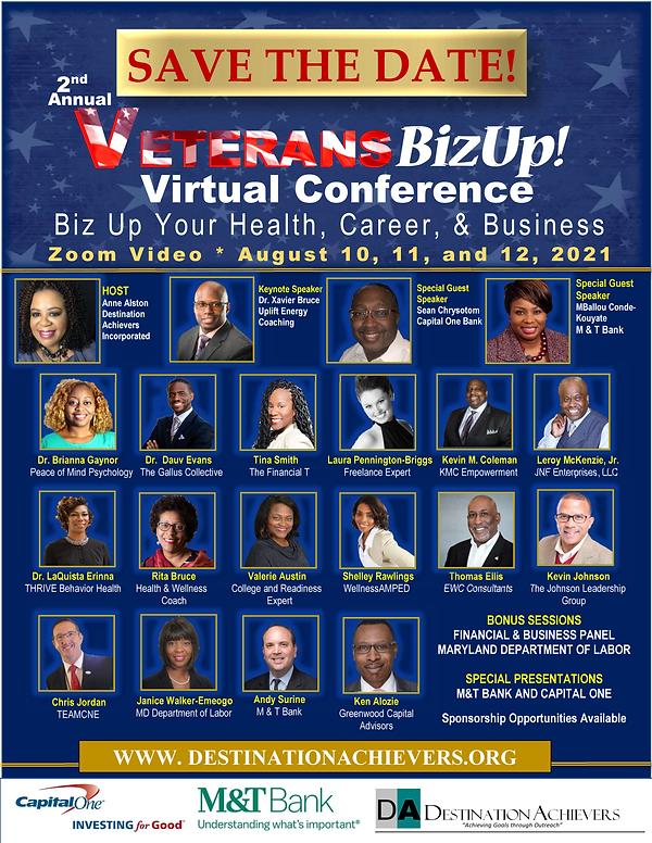 Veteransbizup Speaker Flyer 1 - save the