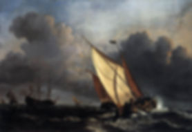 Willem_van_de_Velde_the_Younger,_Ships_o